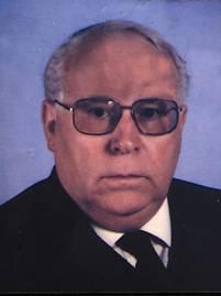 L'abbé Laurent LISCHER secrétaire de l'A.J.C. Mulhouse en 1984.