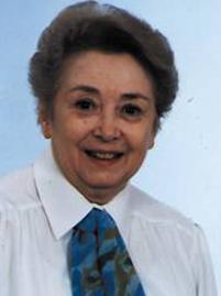 Madame Renée KIRCHHOFF secrétaire de l'A.J.C. Mulhouse de 1985 à 1992.